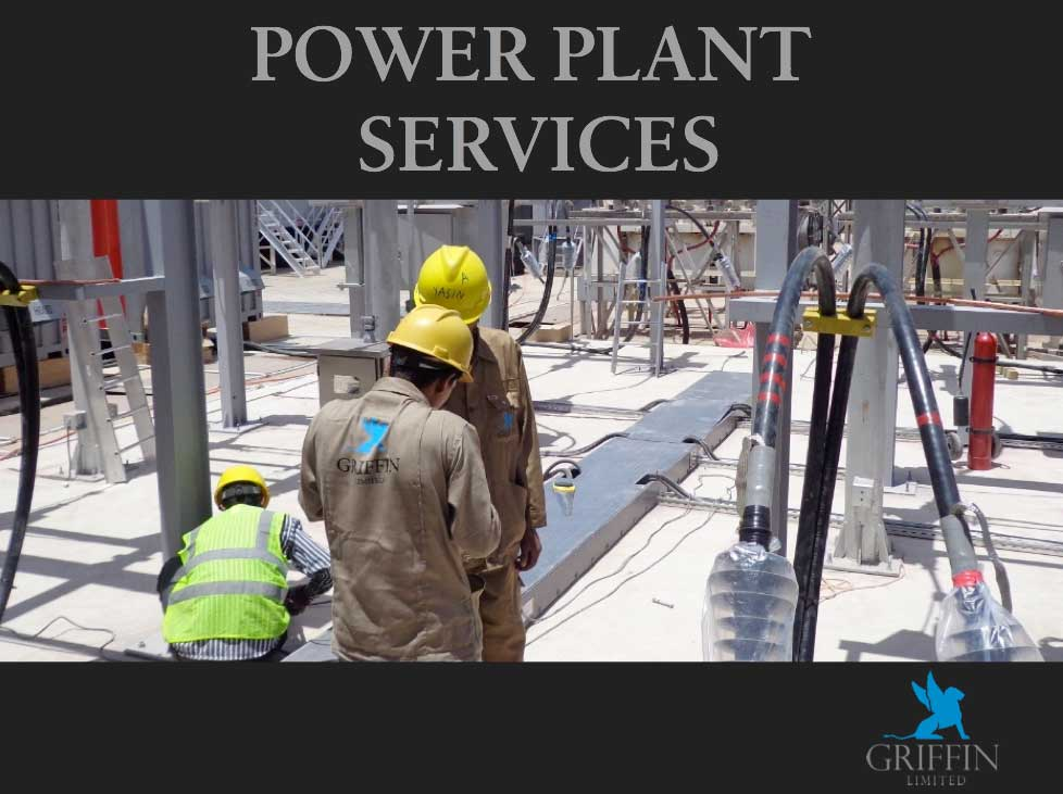 Griffin Power Plant Services Yemen, Yemen power plants, Yemen energy